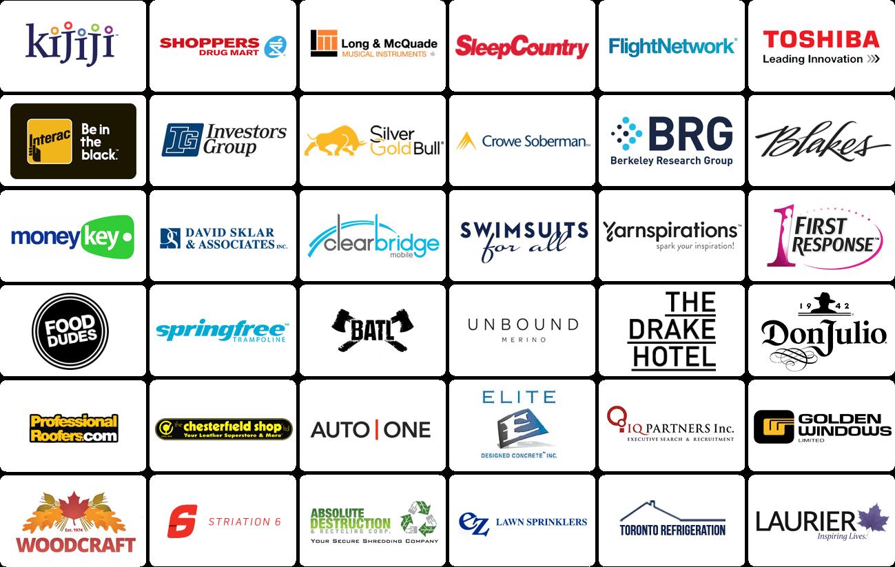 PaulTeitelman Client's Logos
